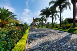 Jardin de cielo entrada
