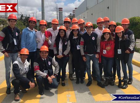 """Visita """"Central de Ciclo Combinado CFE: San Lorenzo Potencia"""""""