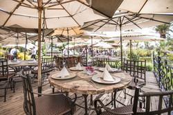Palmira mesas terraza
