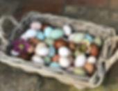 Rainbow Egg Basket