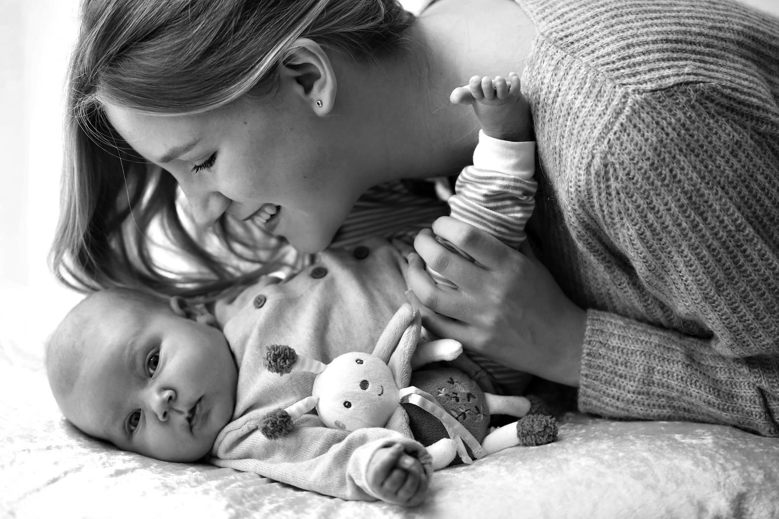 Mama und ihr Baby