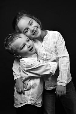 Bruder+Schwester Familien Foto