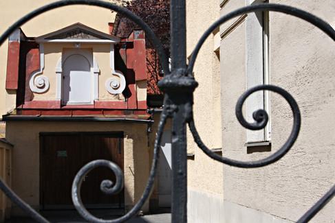 Schwanthalerhöhe Hinterhof Architektur