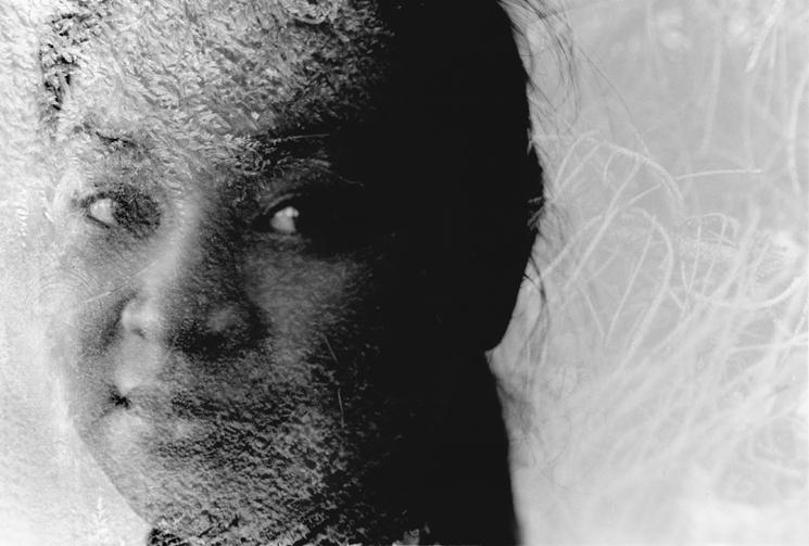 Portrait - Doppelbelichtung