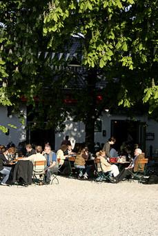 Bavariaparkt Biergarten München