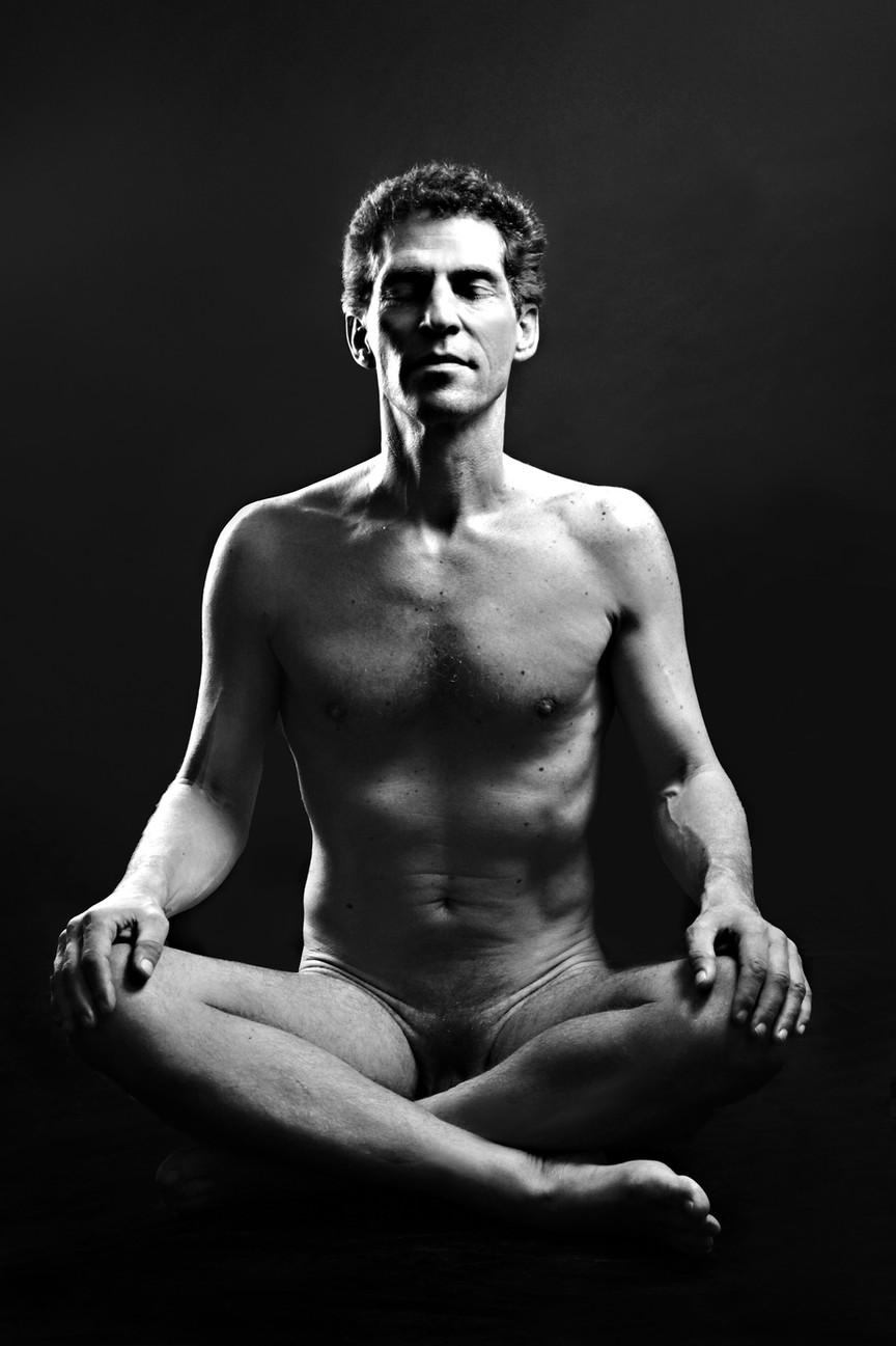 Akt männlich - Buddha - Meditation