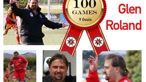 Senior Coach Glen Roland 100th Game
