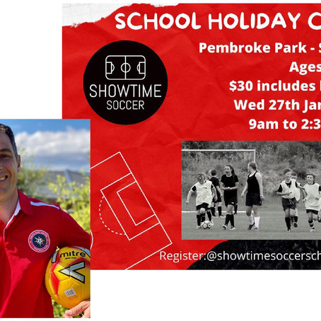 School Holiday Soccer Camp