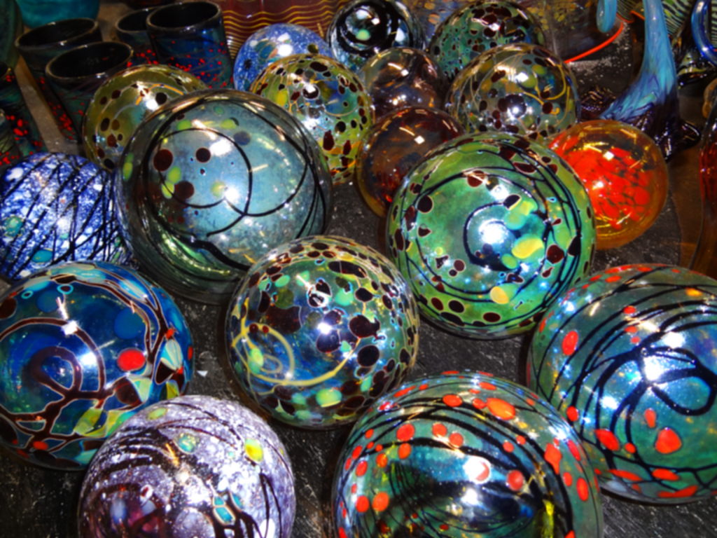Selection of Wide Variety of Orbs