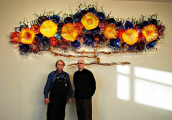 Ron and Chris Marrs at Installation