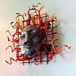 Medusa Wildbloom Wall Instllation