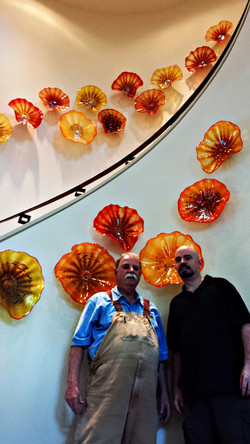 Ron and Chris Marrs with install.