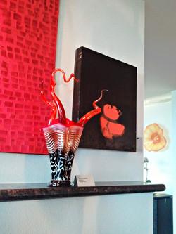 Wild Bloom Vase in Residence