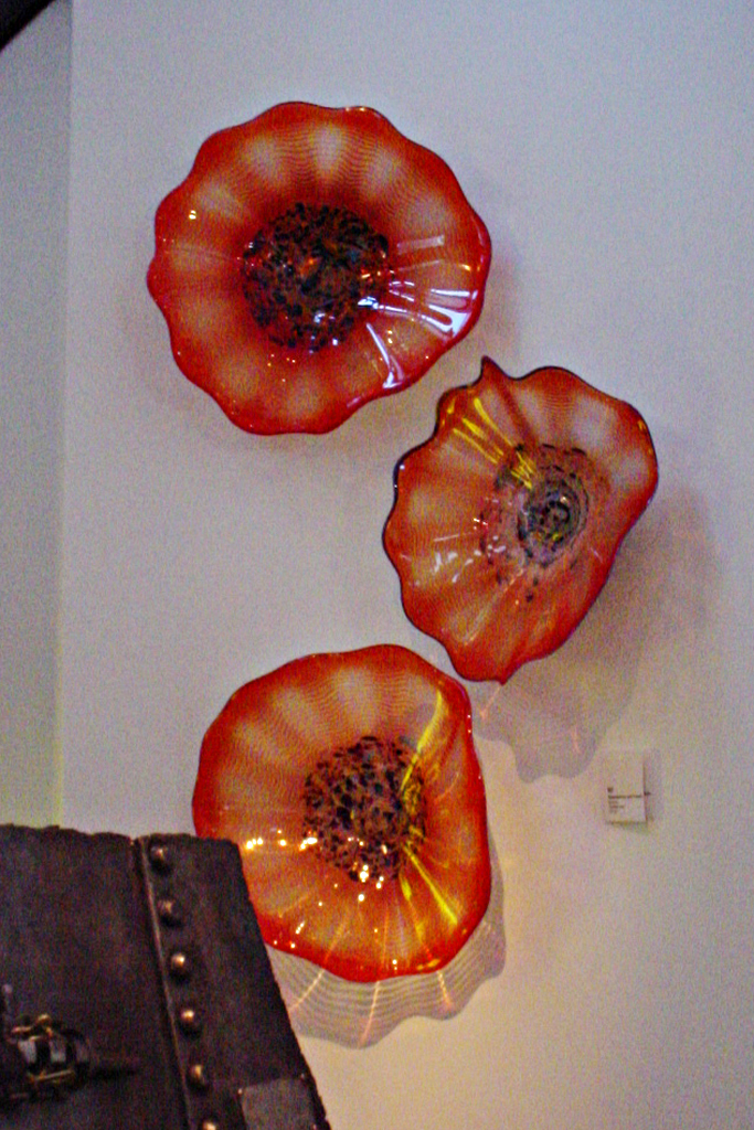 Tangerine Wall-mounted Firewheels