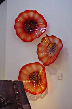 Tangerine Wall-mounted Firewheels