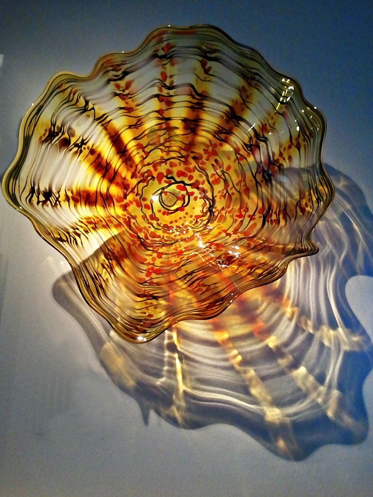 Gold Burst Wall Platter