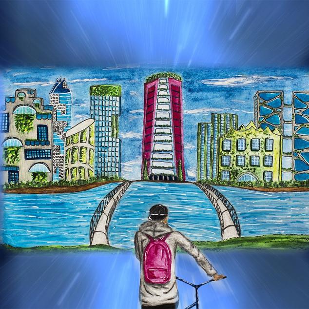 Сагун Мария Город будущего