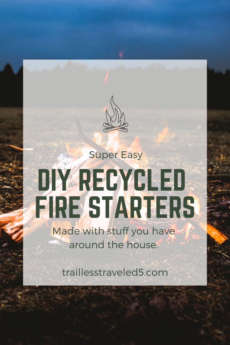 Super Easy DIY Recycled Fire Starters Made with Stuff You Have