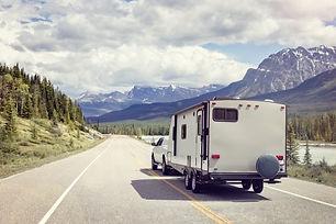 Caravan or recreational vehicle motor ho