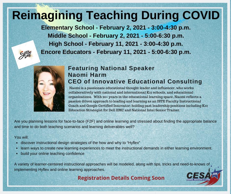 REIMAGINING TEACHING DURING COVID - NAOMI HARM