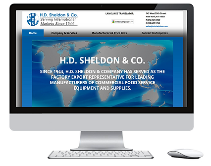 BMECOM Website Design