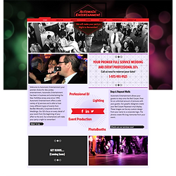 BMCOM Website Design