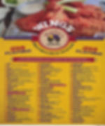 Marleys Gotham Grill - Wings Menu