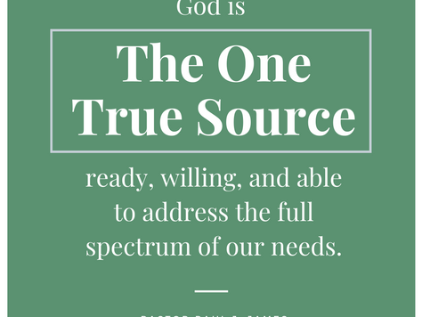 A Vaccine for The Soul