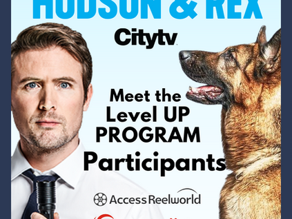 Announcing the Reelworld 2021 Level UP Program Recipients to Shadow on Hudson & Rex Series