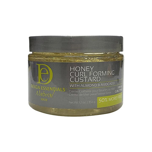 DESIGN Natural Honey Custard Curl Forming Gel (Jar) 12oz