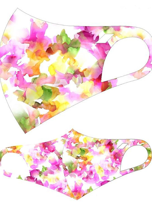 FASHION MASK  WATERCOLOR 1036 10PCS