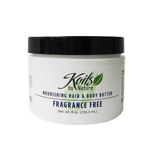 KOIL'S Nourishing Hair & Body Butter - Fragrance Free 8oz