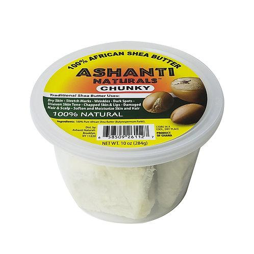 ASHANTI Chunky White Shea Butter 10oz