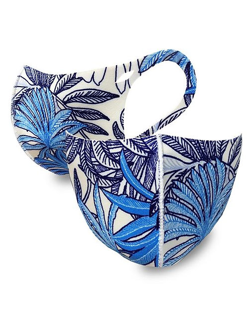 FASHION MASK BLUE TROPICAL 10PCS