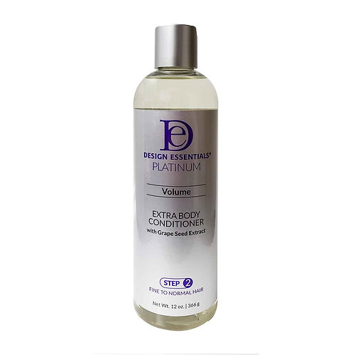 DESIGN Platinum Extra Body Conditioner W/ Grape Seed (Step 2) 12oz