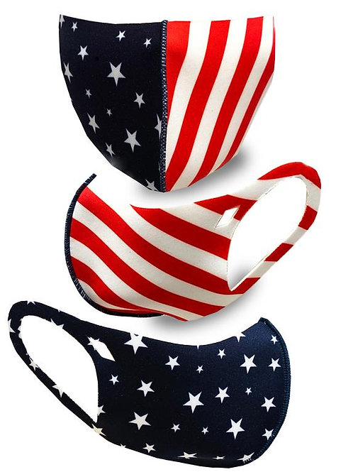 FASHION MASK  USAFLAG 10PCS