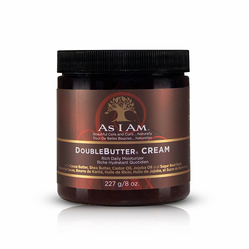 AS I AM DoubleButter Cream Moisturizer 8oz