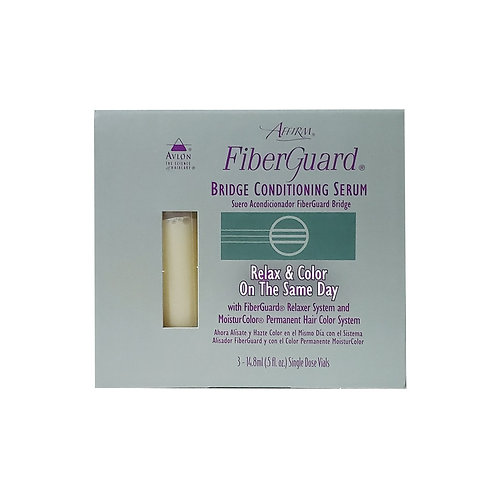 KERACARE Fiber Guard Bridge Conditioning Srum 3 Vials 0.5oz