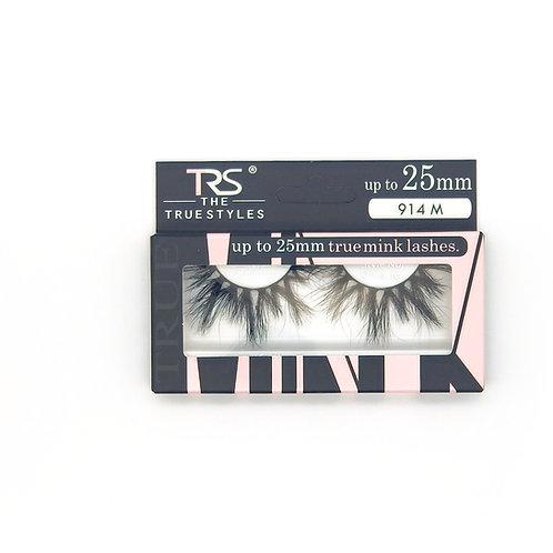 TRS True Mink 3D Eyelashes 25mm M914