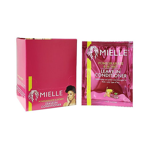 MIELLE DISPLAY PACK POM/HONEY LEAVE-IN CONDI 1.75oz