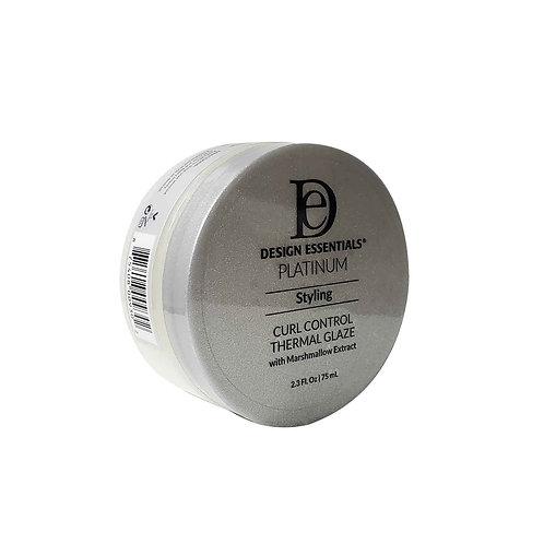 DESIGN Platinum Curl Control Thermal Glaze 2.3oz