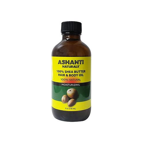 ASHANTI 100 % Shea Butter Oil 4oz