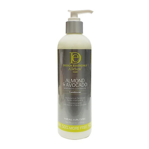 DESIGN Natural Avocado Detangling Conditioner 12oz