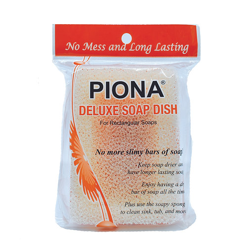 PIONA No Mess Deluxe Soap Dish