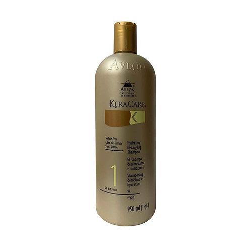 KERACARE Hydrating Detangling Shampoo (Sulfate Free) 32oz
