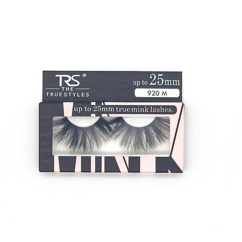 TRS True Mink 3D Eyelashes 25mm M920