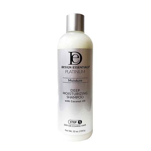 DESIGN Platinum Deep Moisturizing Shampoo (Step 1) 12oz