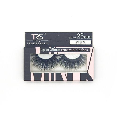 TRS True Mink 3D Eyelashes 25mm M918