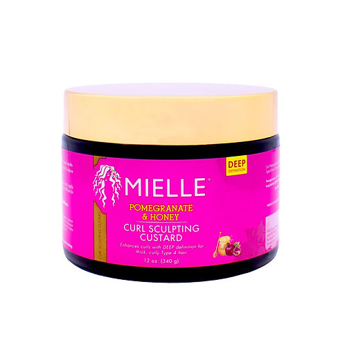 MIELLE POM/HONEY CURL CUSTARD 12oz