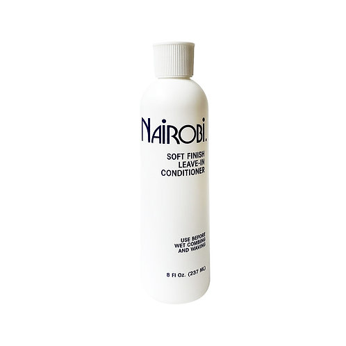 NAIROBI Soft Finishing Leave-In Cond 8oz